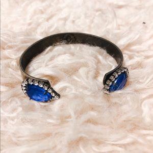 Loren Hope Cobalt Blue Bracelet Cuff